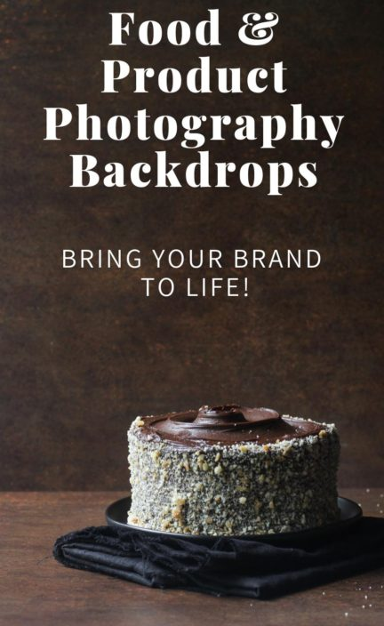 Bessie Bakes Backdrops photography backdrops widget with chocolate cake