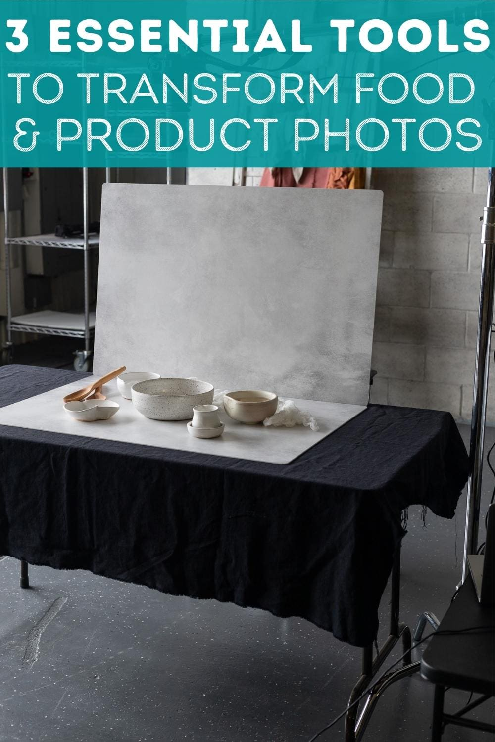 Transform your food and product photos with these 3 essential tools! via @bessiebakes